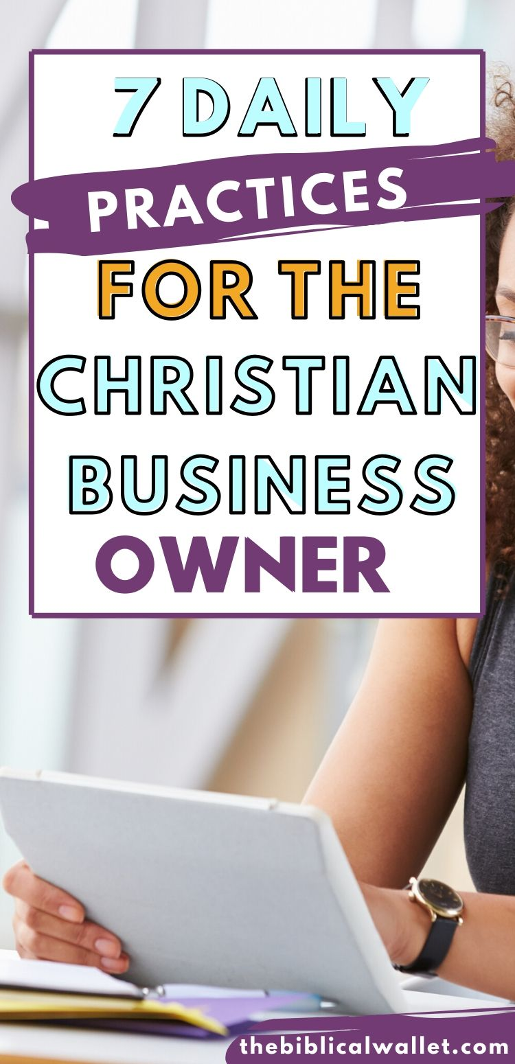 christian business owner